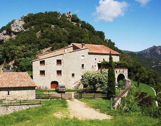 Can Coll de Pincaró: La masia