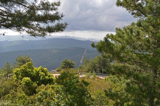 Monte Limbara: Aussicht