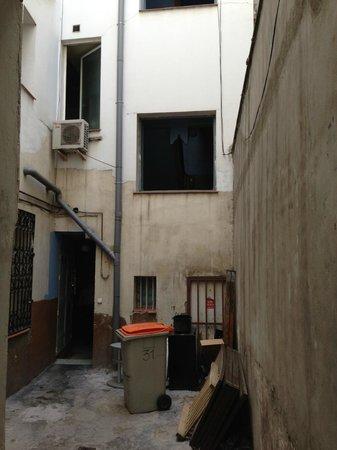Hostal Oxum: Hotelgelände