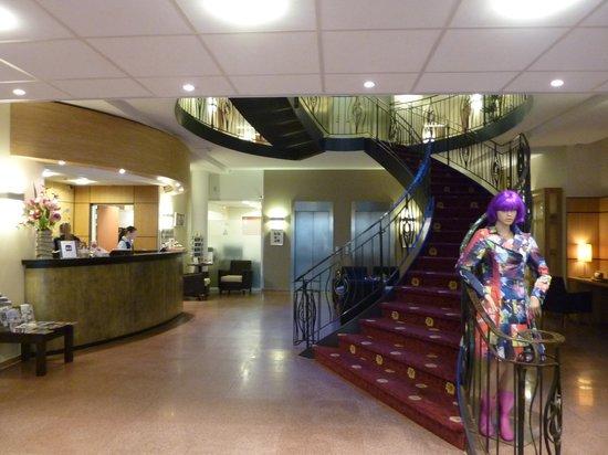 Amrath Grand Hotel Frans Hals: foyer