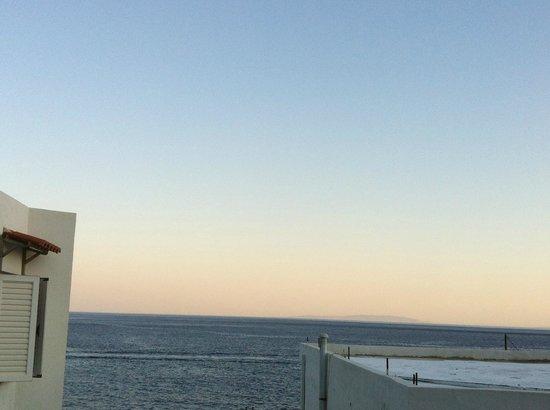 Hotel Restaurant Lefka Ori: vista mare