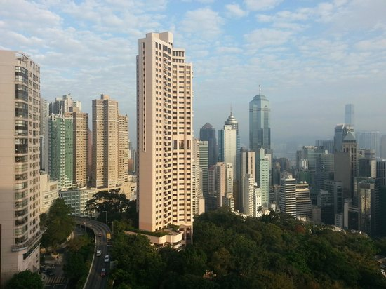 Two MacDonnell Road: View from 23 Floor