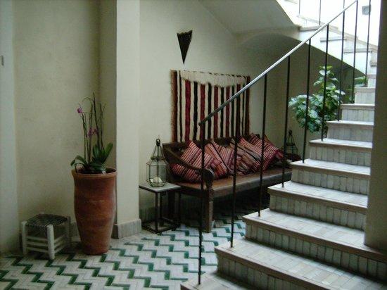 La Casa dell'Arancio : cortile interno
