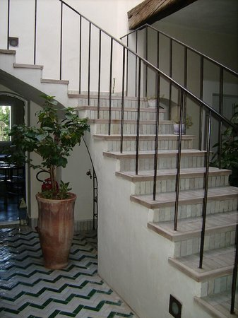 La Casa dell'Arancio: scala interna