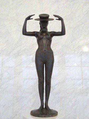The Miyagi Museum of Art: 佐藤忠良「帽子・立像」