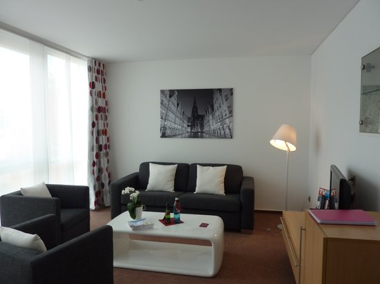 Stadthotel Munster: family suite