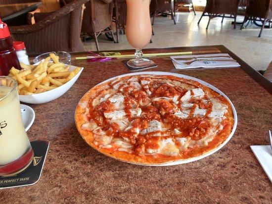 HYB Eurocalas : La fameuse pizza d'Alfil