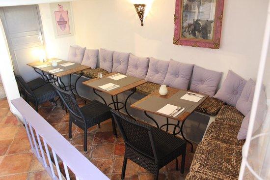 Malabar restaurant : downstairs