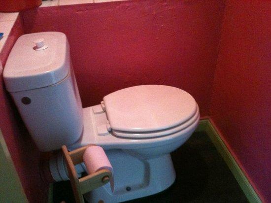 Gite Les Girelles: toilettes exiguës ++++