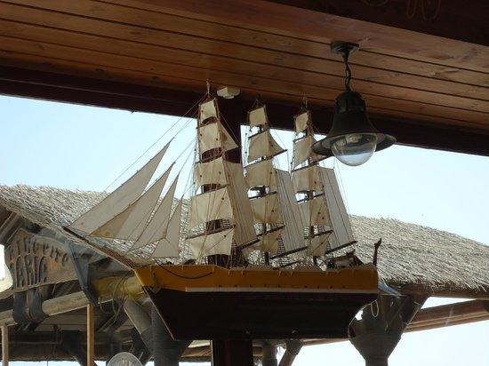 Chiringuito Maria: barco