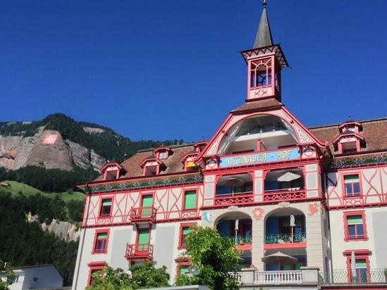 Hotel Vitznauerhof: Märchenschloss