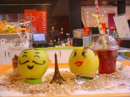 Fruitee love in Paris