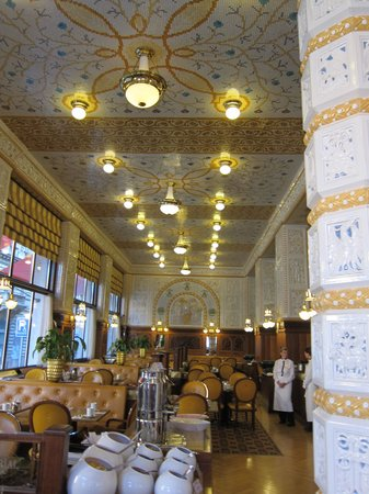 Art Deco Hotel Imperial: cafe