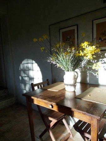 Calcione Castle and Country: La Casetta breakfast area