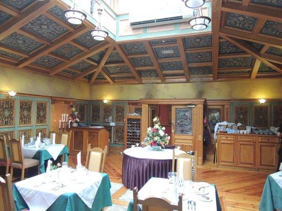 Lady Gregory Hotel: Speisesaal