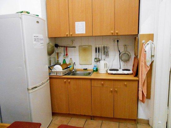 HBC Hostel: Kitchen