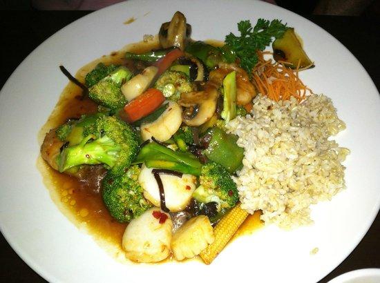 Wasabi: Perfect Match (shrimp and scallops)