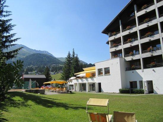 Valbella Inn Resort: Rear of the hotel