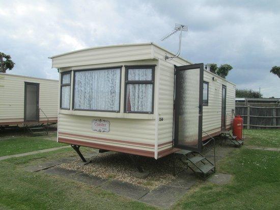 Golden Palm Resort: caravan