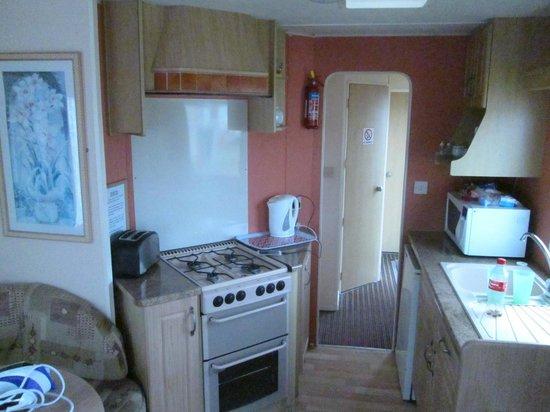 Golden Palm Resort: kitchen
