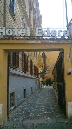 Hotel Edera: Вход в отель