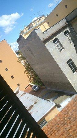 Edera Hotel: Вид из окна нашего номера