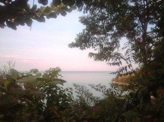 Hotel Waecicu Eden Beach: View from room veranda