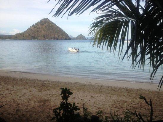 Hotel Waecicu Eden Beach: View from hotel restaurant by the beach