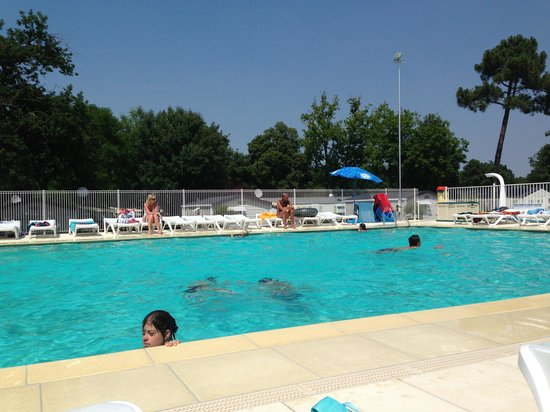 Camping Atlantique Parc : Swimming pool