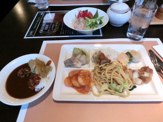 Four Points by Sheraton Hakodate: 4.夕食02メニュー例