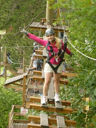 Bartlett Inn: Cranmore Rope Course Adventure