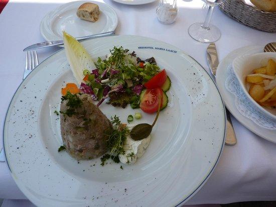 Seehotel Maria Laach: Galantine (aspic) of pork