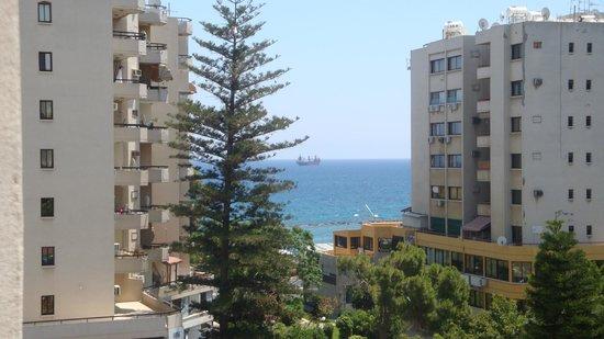Kapetanios Odyssia: номер с боковым видом на море