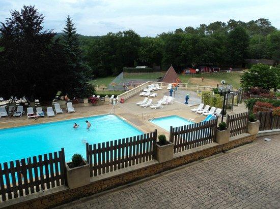Camping La Palombiere : la piscine