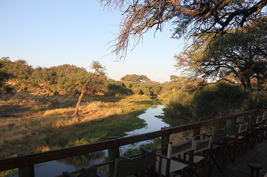 Mogotlho Safari Lodge: View from Deck