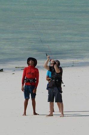 Airborne Kite & Surf Village : starting to get the feel
