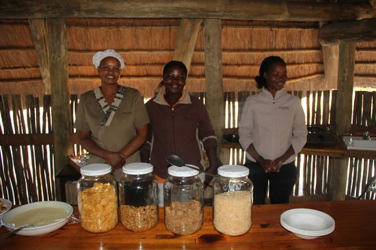 Mogotlho Safari Lodge: Great and friendly staff