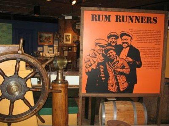 Part of the Rumrunner Exhibit - Fisheries Museum of the Atlantic-Lunenburg