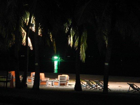 Dolphin Bay Resort: Fishing boat