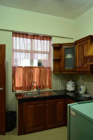 Supun Arcade Residency: キッチン