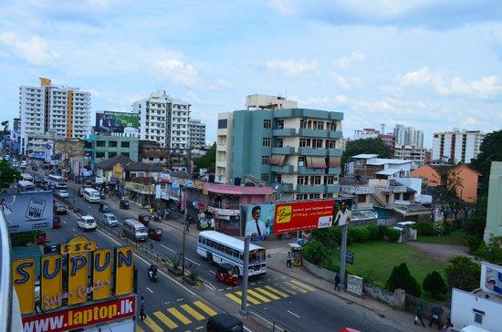 Supun Arcade Residency: ホテルからの眺め