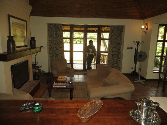 Legendary Lodge: Livingroom in Cottage