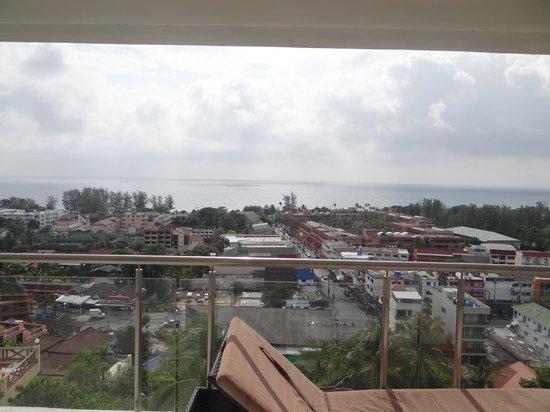 Sunset Plaza : Vue du balcon