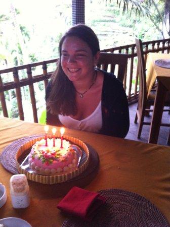Boni Bali Restaurant: anniversaire surprise