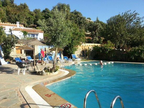 Dar Echchaouen: The pool area