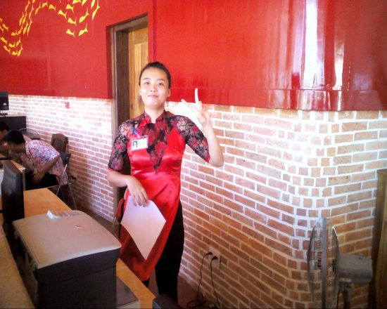 Melon Resort Mui Ne: Receptionist