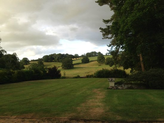 Staffield Hall: Views from the garden