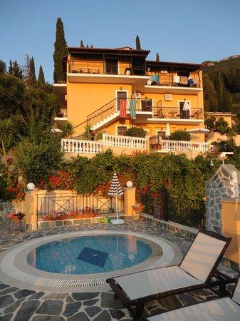 Dina S Paradise Hotel Apartments South End Of Agios Gordios Beach