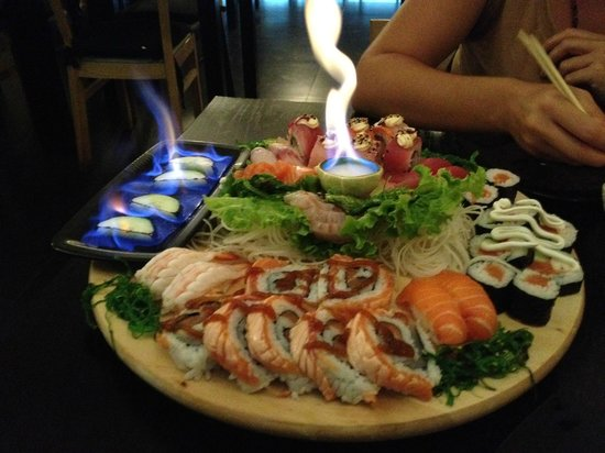 Rock'n Sushi: O meu prato preferido, Fusion...