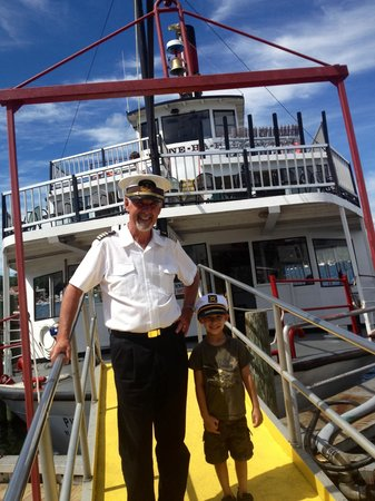 Lake George Steamboat Company : My lil buddy w Cappy!